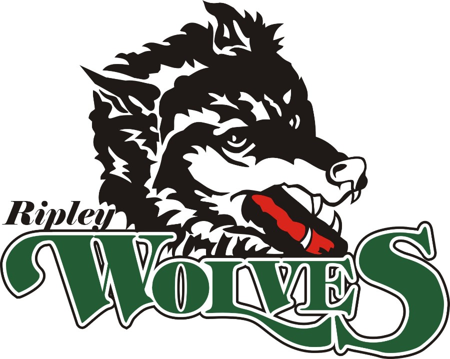 Logo for Ripley Wolves